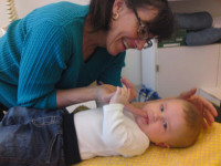 Baby-behandling-kranium