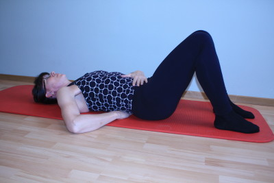 grundposition ryggliggande